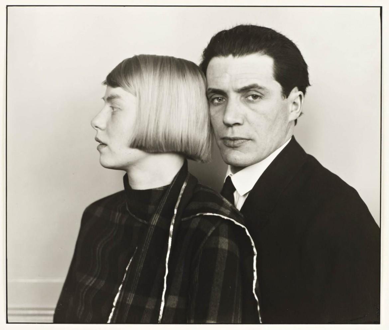 Mimar Hans Heinz Lüttgen ve karısı Dora 1926, August Sander
