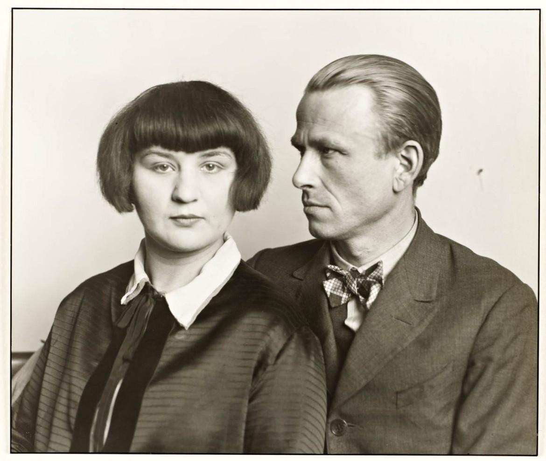 Ressam Otto Dix ve karısı Martha, 1925/26