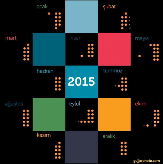 2015 Resmi Tatil ve Bayramlar