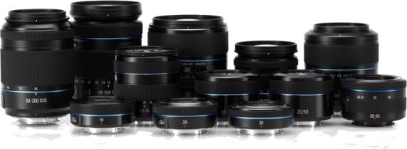 Samsung NX lensler