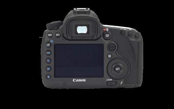 Canon EOS 5Ds Tuş Dizilimi