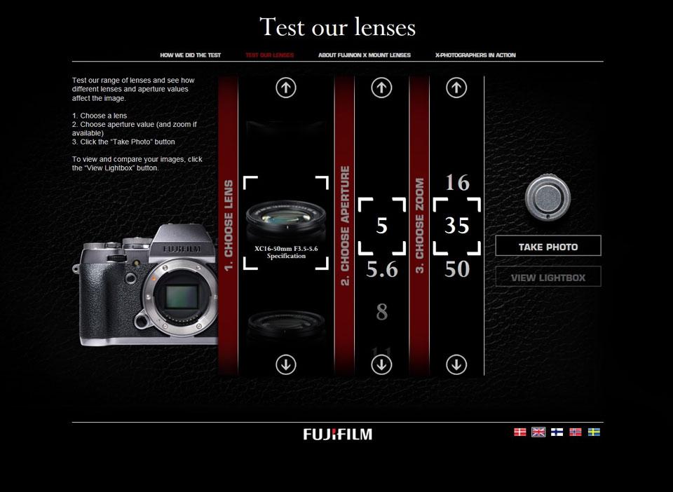 Fujinon Lens Test Ayarlar