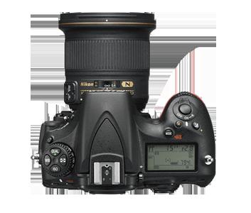 Nikon D810A Üst